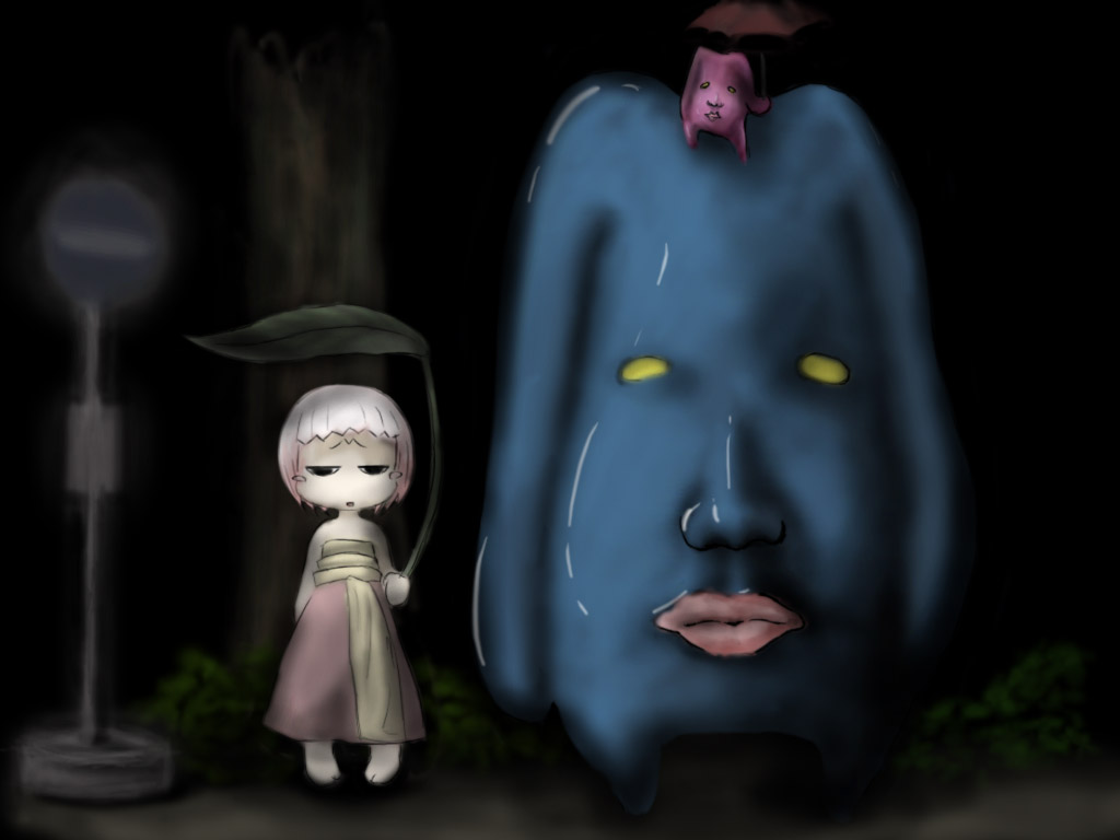 Goo and Pokute (Totoro tribute)